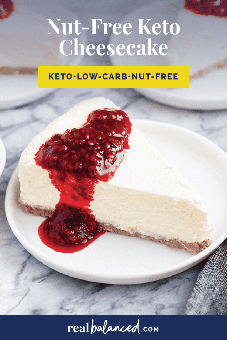 Nut-Free Keto Cheesecake