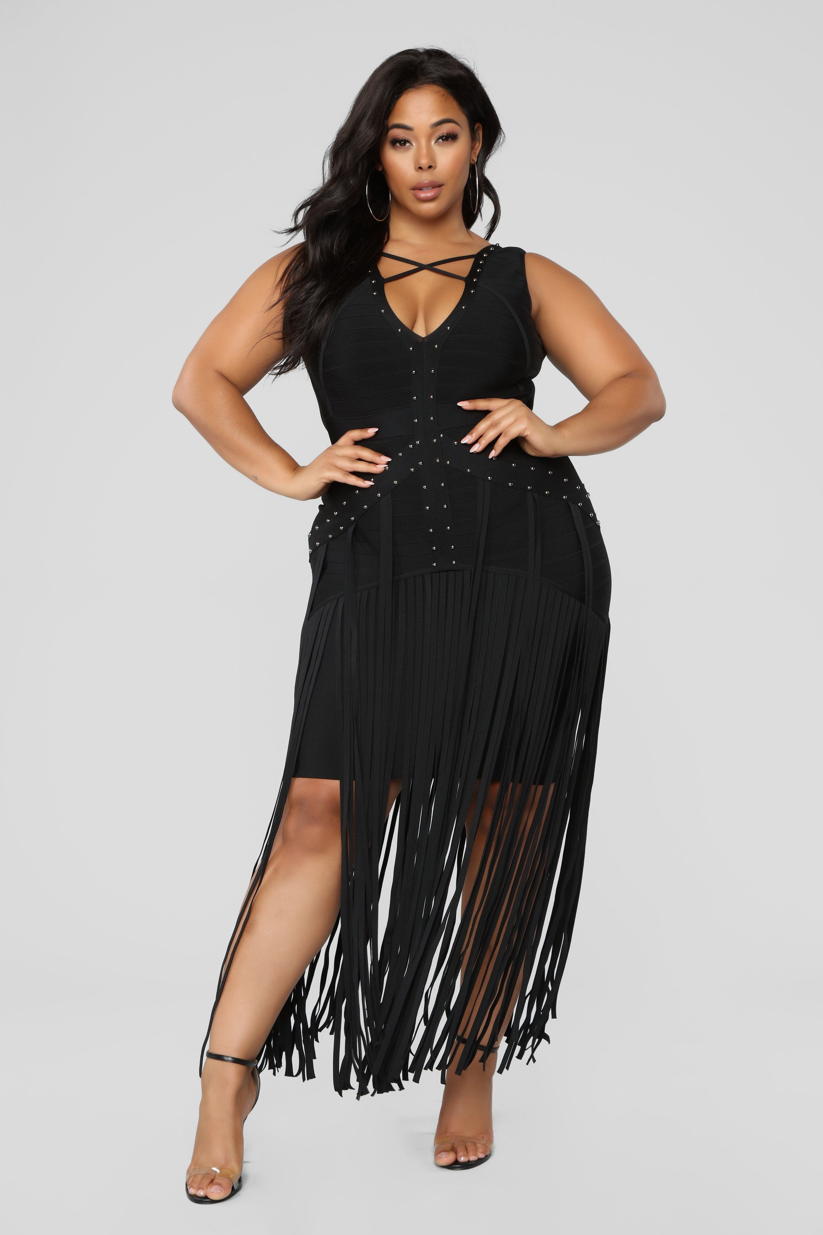 Shimmy Through Life Bandage Dress - Black | My fave Fashions ...
