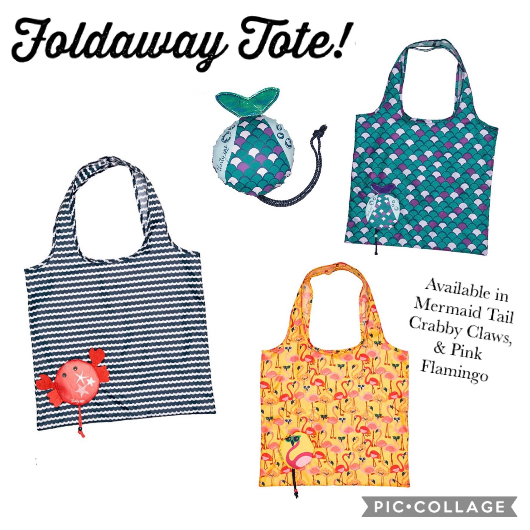 Thirty One Spring 2019 The Foldaway Tote Is Perfect For On