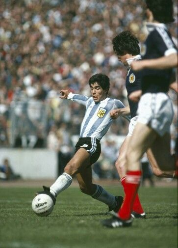 Scotland 1 Argentina 3 in May 1979 at Hampden Park. Diego Maradona introduced himself to the UK #Friendly