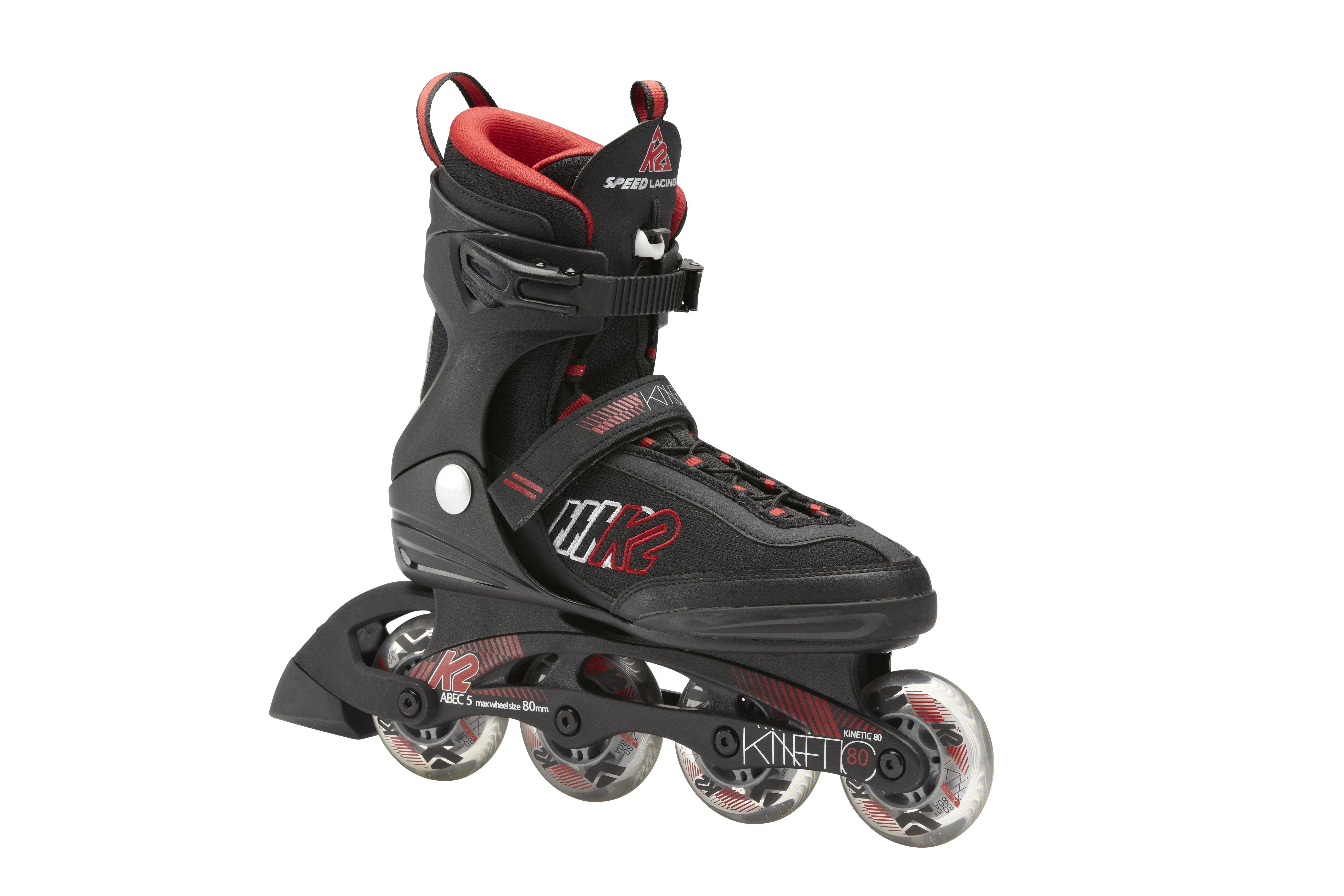 79e9170758c K2 Kinetic 80   Lacing  Speed Lace   Skate Frame  F.B.I.   Wheels  80mm 80a  wheels