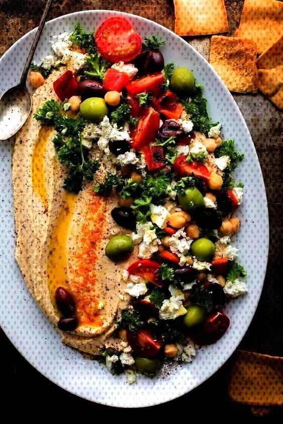 Hummus is a great crowd-pleasing appetizer, but the hummus recipe itself is a keeper! Make this reg