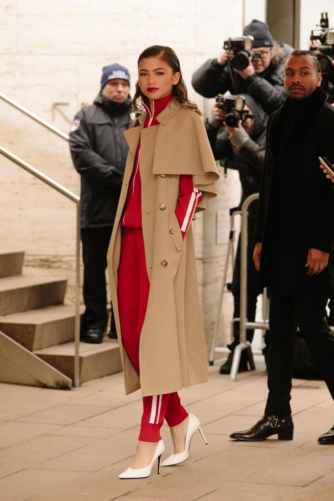 Pretty chic at New York Fashion Week advise