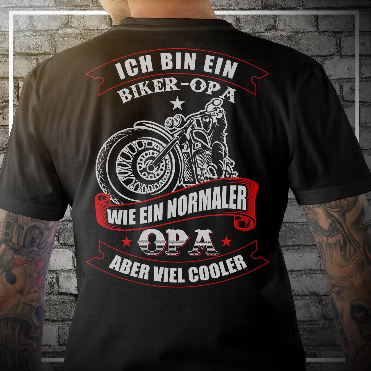 HELDEN T-Shirt OPA WURDE GESCHAFFEN WEIL Enkel Enkelin Geschenk Spruch lustig