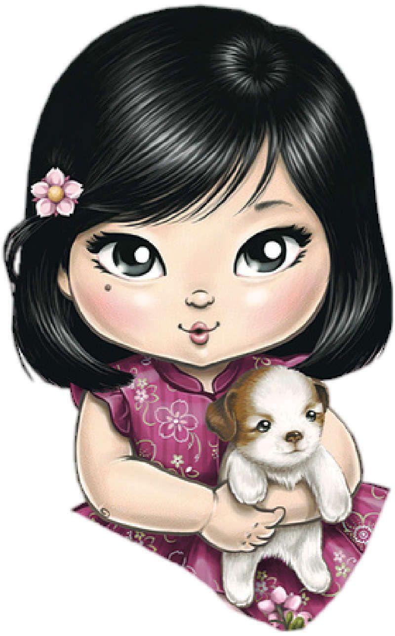 Открытки, кукла картинки красивые нарисованные