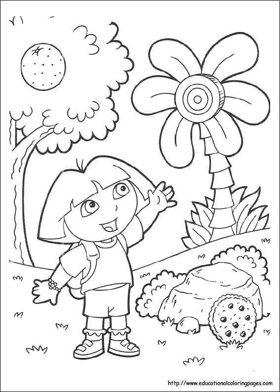 Pin by Tri Putri on 8 Dora The Explorers Coloring Pages Pinterest