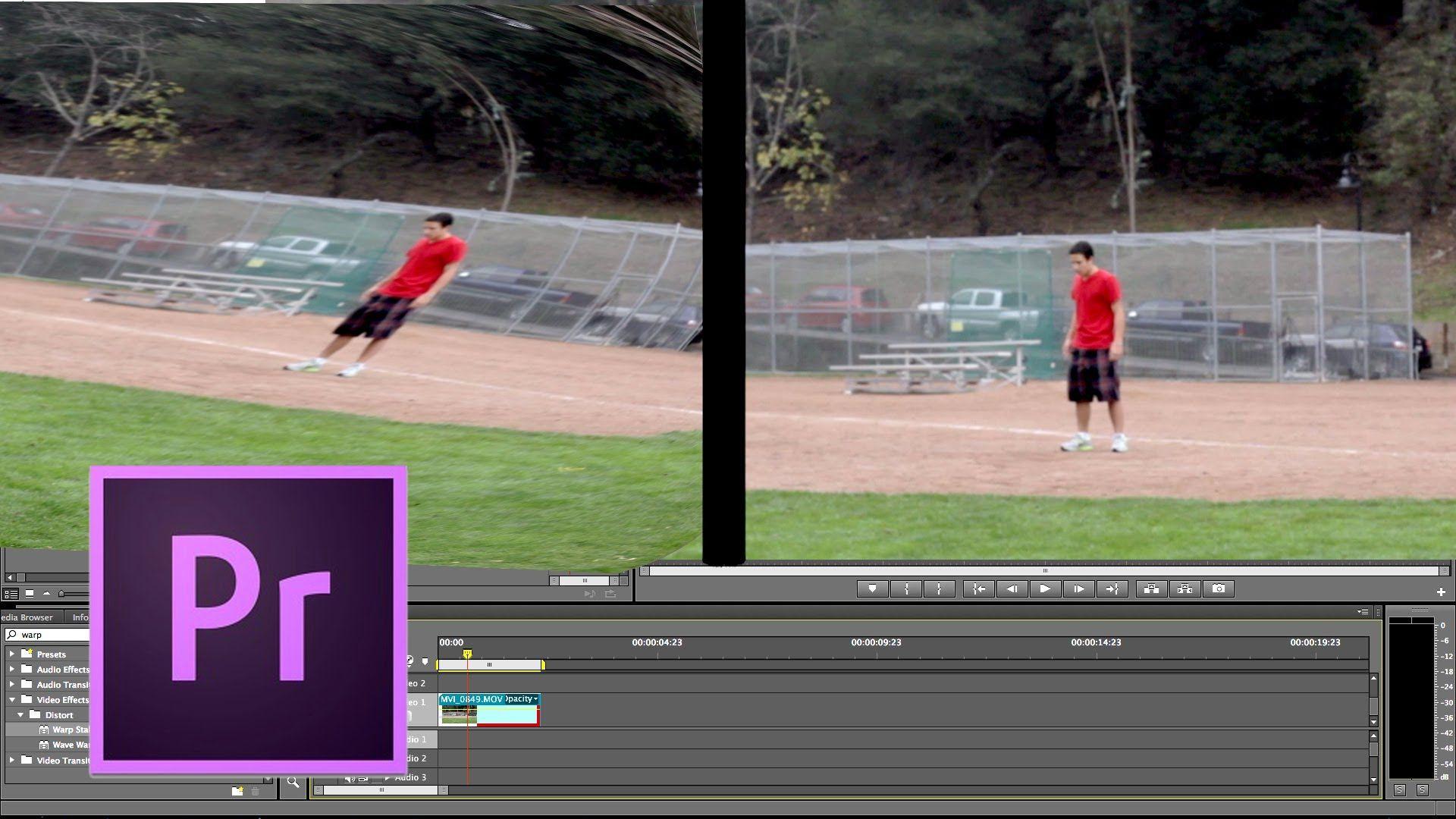 Premiere Pro Tutorial: How to Use Warp Stabilizer   Film