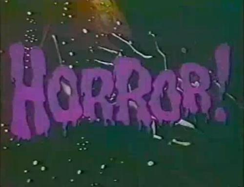 horror type
