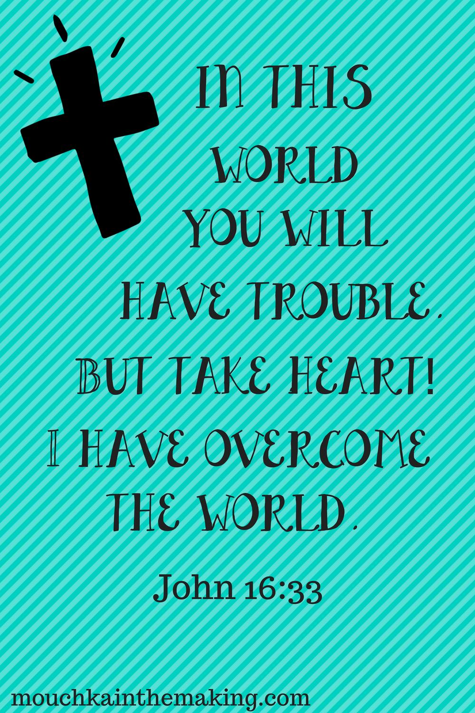 John 16:33 ✨|| To see more follow @Kiki&Slim | Spiritual✨ | Bible