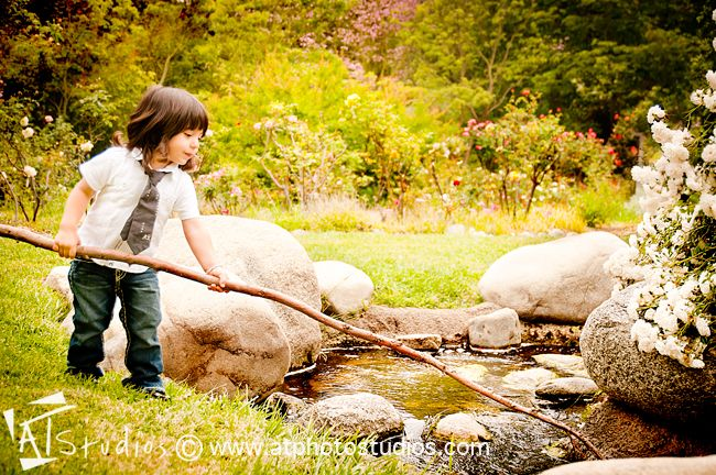 Baby Boy And Girl Outdoor Photoshoot Photography By AT Studios Photographer