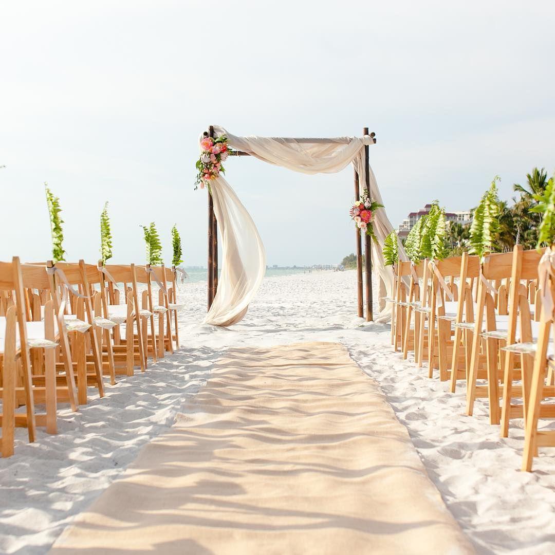 Beach weddings never looked so good. Photo by LaPlaya
