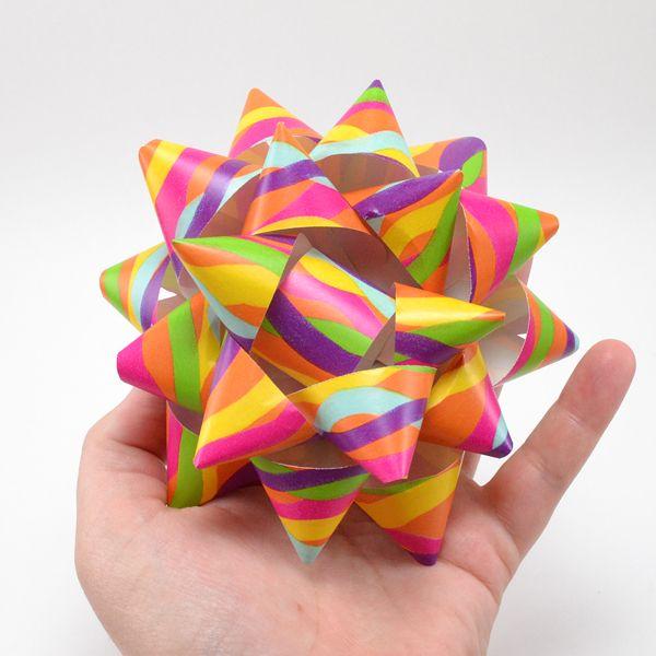 DIY Paper Gift Bows - Dream a Little Bigger