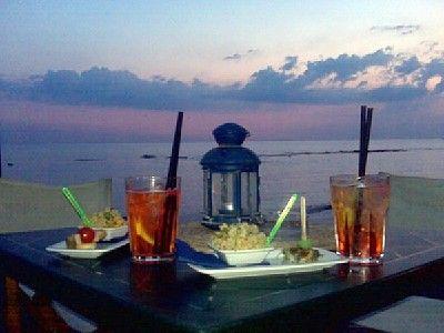 Mare, tramonte, Italia