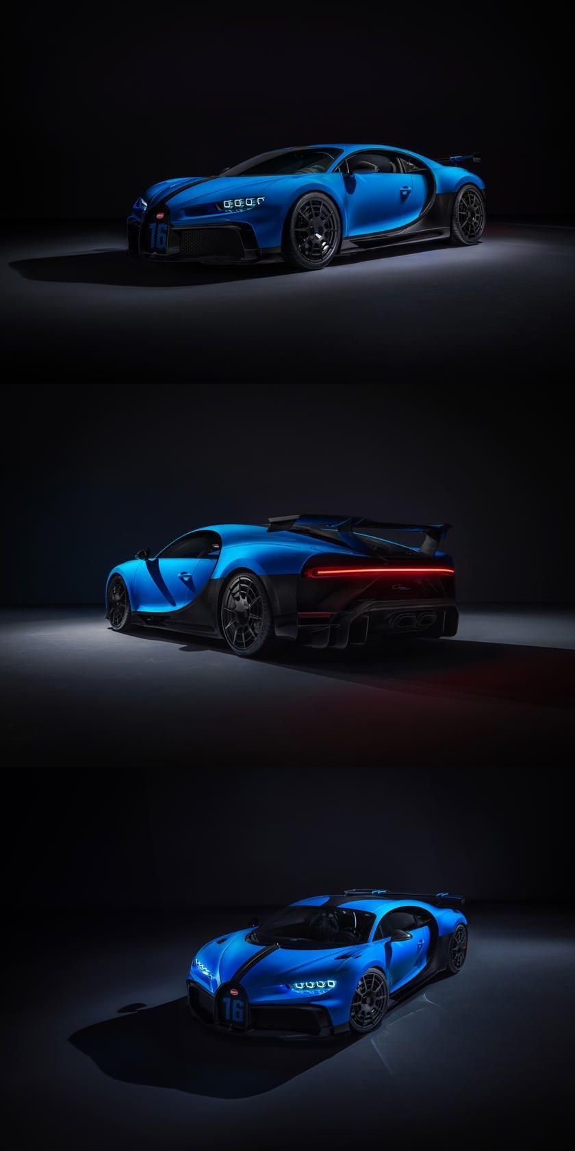 Bugatti Chiron Pur Sport Is A 1500 Hp Track Weapon Production Will Be Limited To Just 60 Units Each Costing An E In 2020 Super Car Bugatti Bugatti Chiron Bugatti Cars