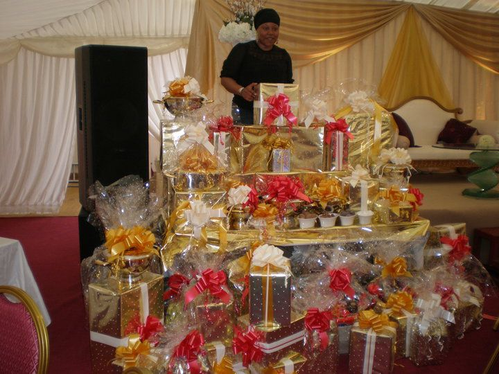 Customary Wedding Gift Amount: ... Of Gifts The Groom's Family