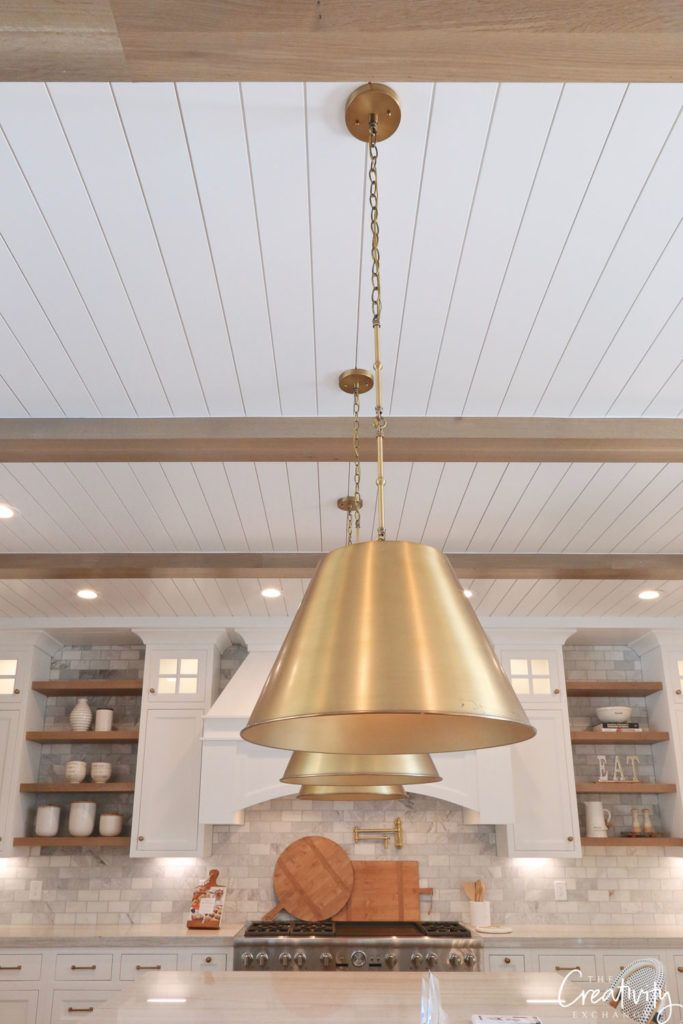 Modern European Meets Farmhouse Dream Kitchen A New Kitchen