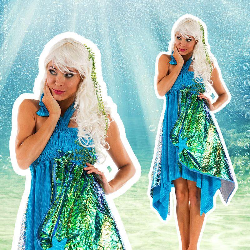 Nähanleitung: Meerjungfrauen-Kostüm nähen - buttinette Faschingsblog ...