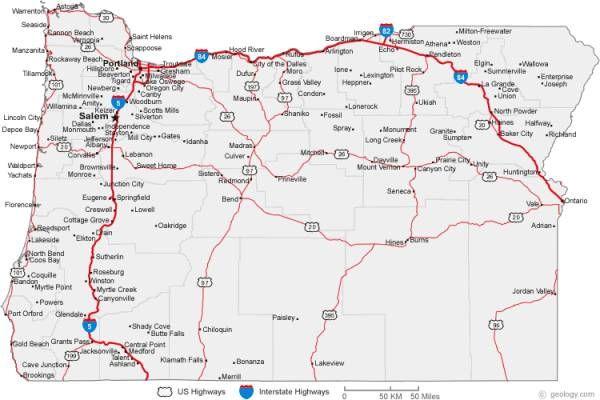 Free Oregon Map.Cool Free Map Of Oregon Trips Pinterest Oregon Map Oregon