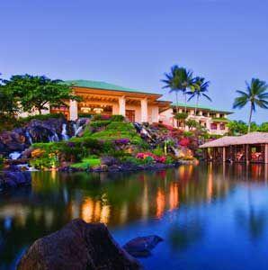 Grand Hyatt Kauai Resort  Spa, Kauai, Hawaii.  One of Travel + Leisure's World's Best Hotels 2012 (#7, Top Resorts in Hawaii)
