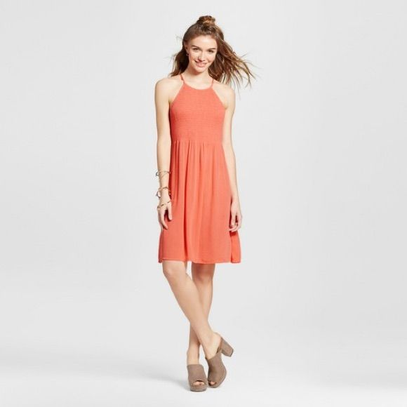 2aead65713c Coral Target Mossimo Dress