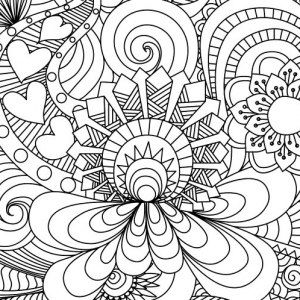 Coloring Pages Patterns: Free Geometric Pattern Coloring Page ...