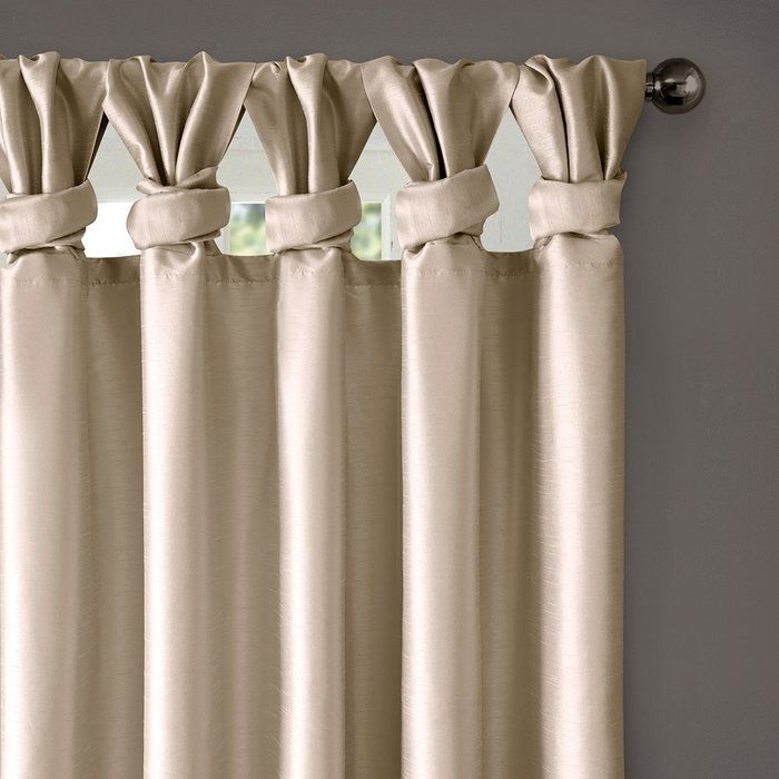 Rivau Solid Regular Tab Top Curtain Panels #setinstains