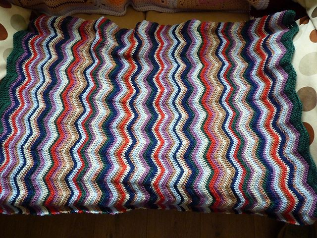 Ravelry: Project Gallery for Easy Ripple Afghan pattern by SusanB ...