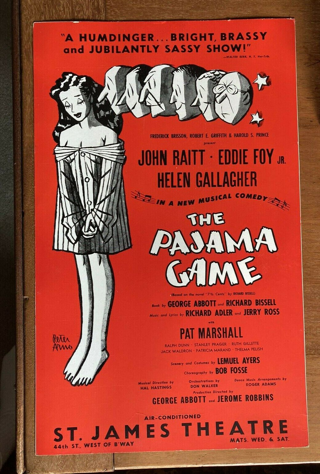 My eBay Active in 2020 The pajama game, Theatre poster