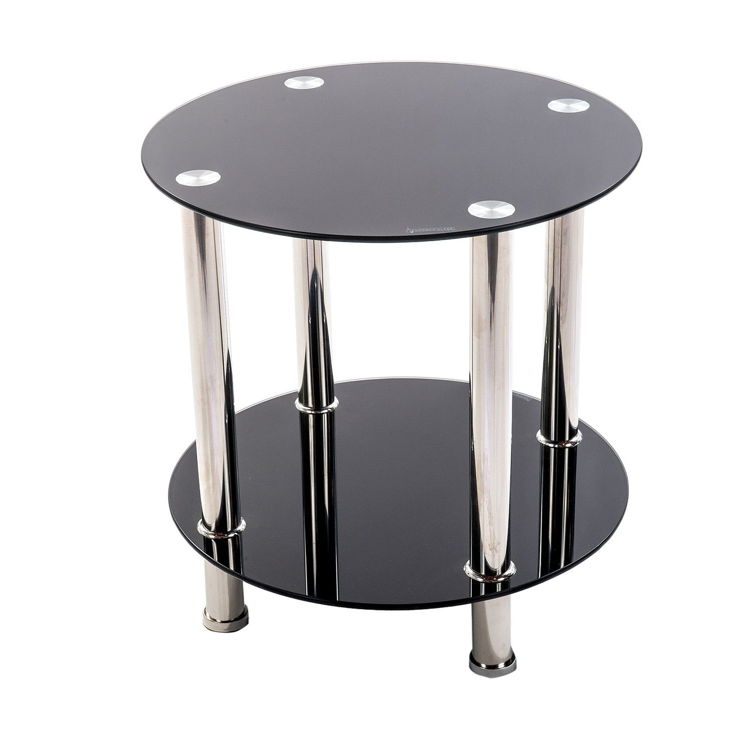 Zipcode Design Chloe Round End Table Modern End Tables End Tables Side Table [ 1500 x 1500 Pixel ]