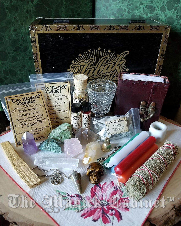 Samhain Ritual Beginner Travel Altar Kit Pagan Wiccan - Year