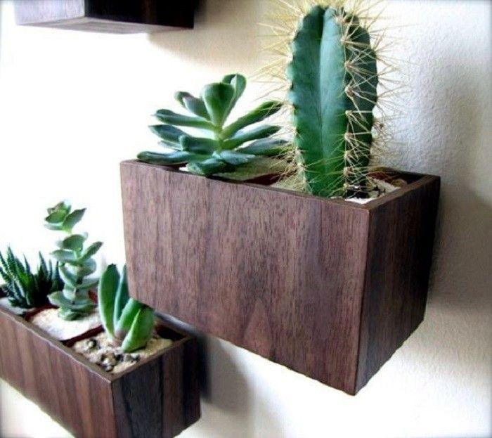 plantas verdes jardines plantadores de la pared interior jardineras colgantes jardineras de madera puede madera de nogal jardn del envase