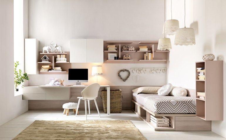 Quarto modular para meninas CITYNEW 136 by Doimo CityLine  Bedroom  Pinterest ...