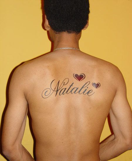 Heart Tattoo Designs With Names Names Tattoos For Men