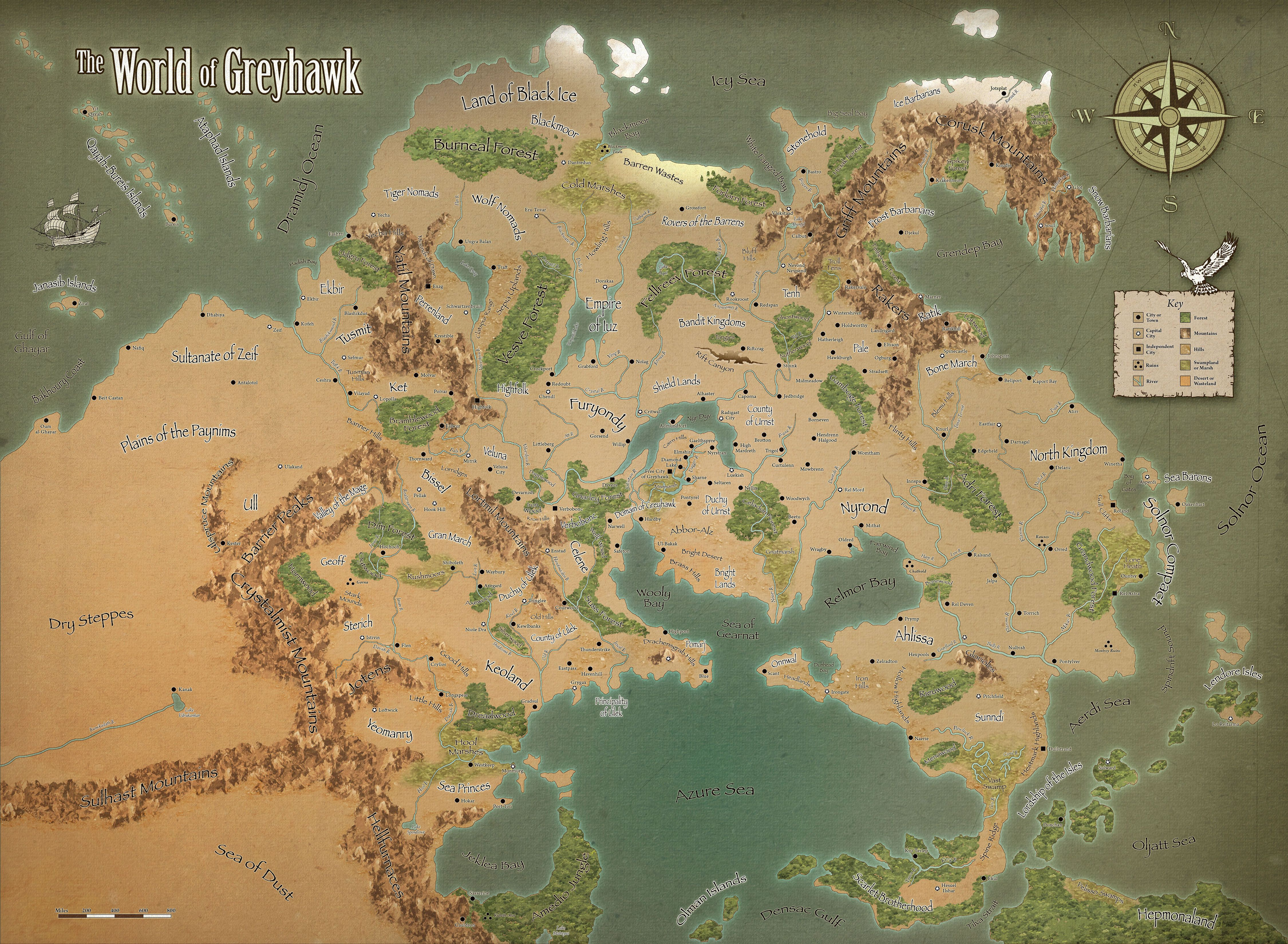 World of Greyhawk by hero339 on DeviantArt