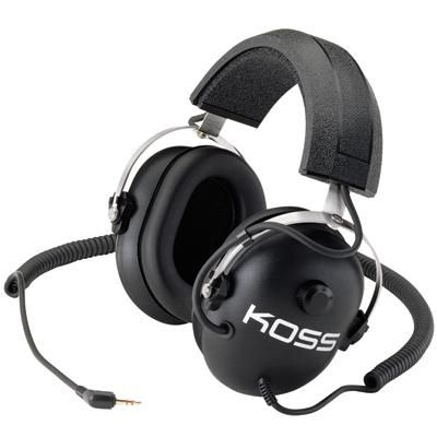 KOSS Noise Reduction Headphone  Passive Noise Reduction Stereophone: isolates listener from ambient sounds Ideal for use with racing scanners and metal detectors Volume control on earcup for easy level adjustment Stereo/Mono switch for added flexibility