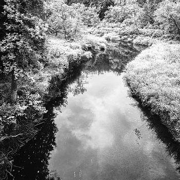 Donald  Erickson - Black and White Scenic Landscape