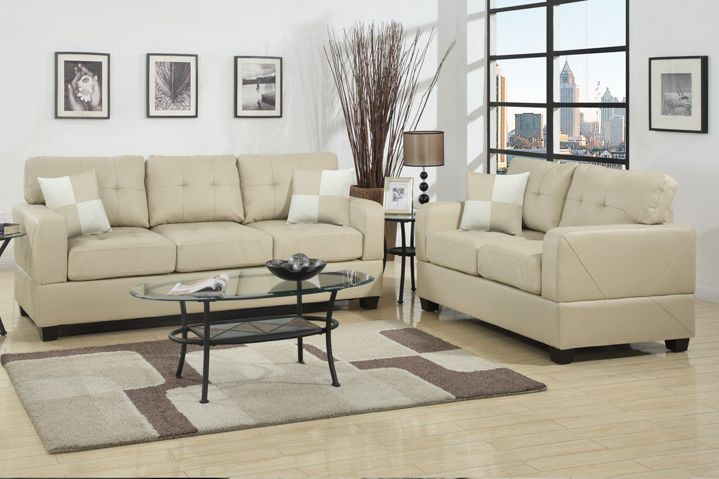 Charming Sofa And Loveseat Picture With Formal Living Room And ...