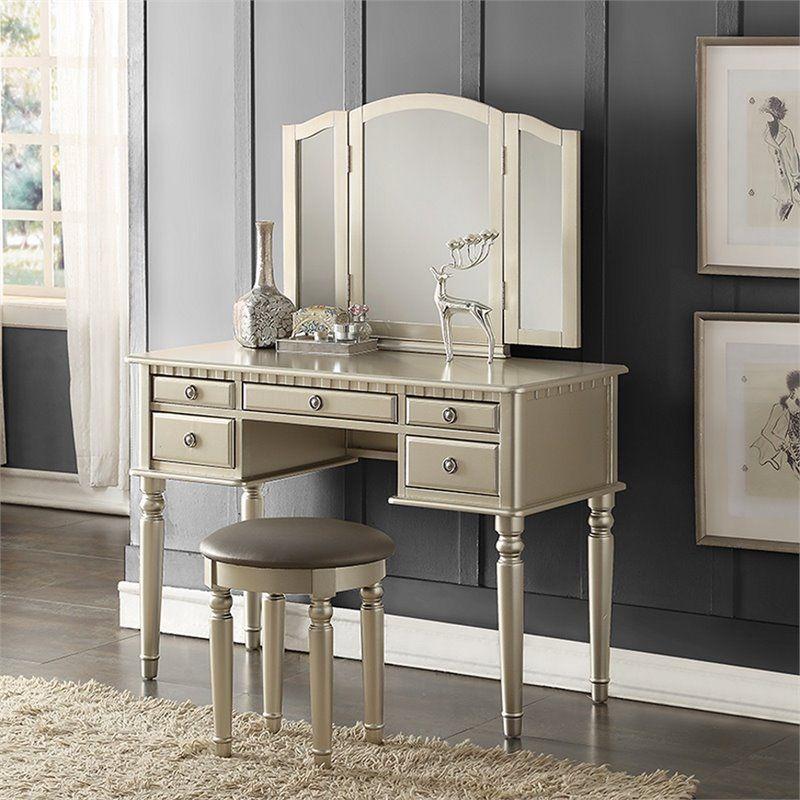 Magnificent Ragam Desain Meja Rias Minimalis Yang Cantik Untuk Ruang Spiritservingveterans Wood Chair Design Ideas Spiritservingveteransorg