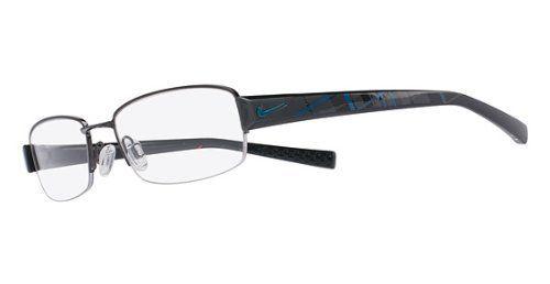 8e1a21e27d NIKE Eyeglasses 8073 079 Brushed Gunmetal Black 53MM Nike.  125.83 ...