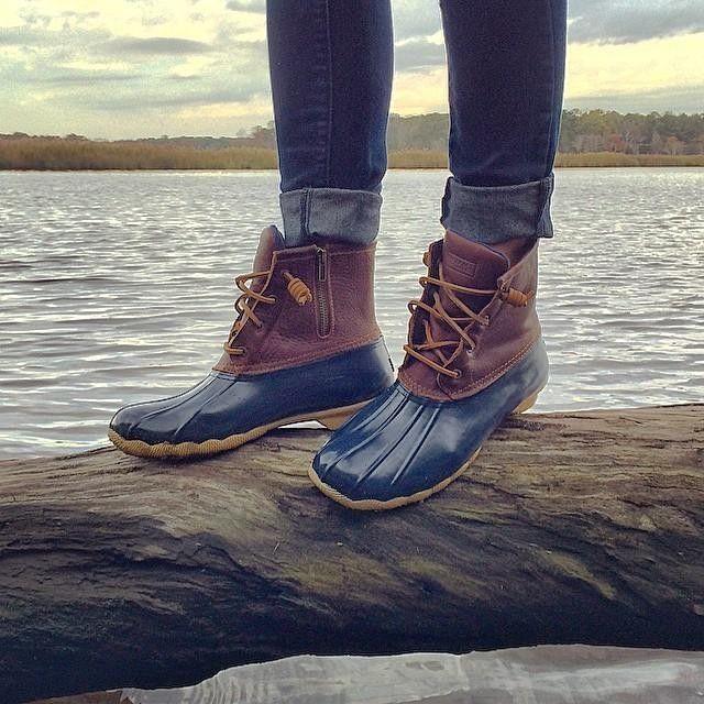 Women S Saltwater Duck Boot Boots Sperry Top Sider