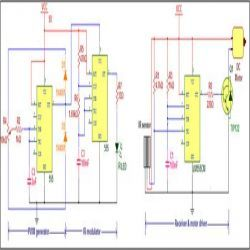 Wireless DC Motor Speed Control Circuit Diagram Electronic