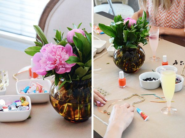 Light Cocktails & Crafting with the Girls, featuring @Kathleen Fitzgibbon US #SmirnoffSorbet