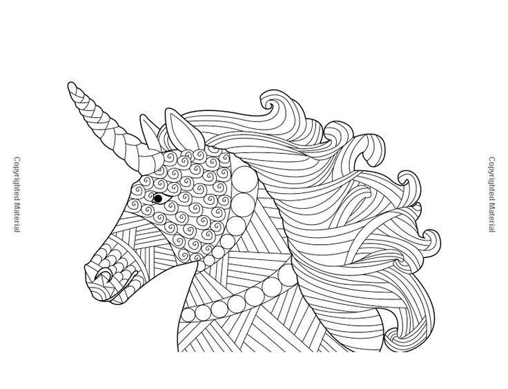 Pin van Barbara op coloring horse, zebra (met afbeeldingen