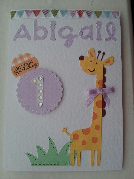 Pin By Dona Thorsgard On Kids Bday Cards Create Birthday Card First Birthday Cards Birthday Cards