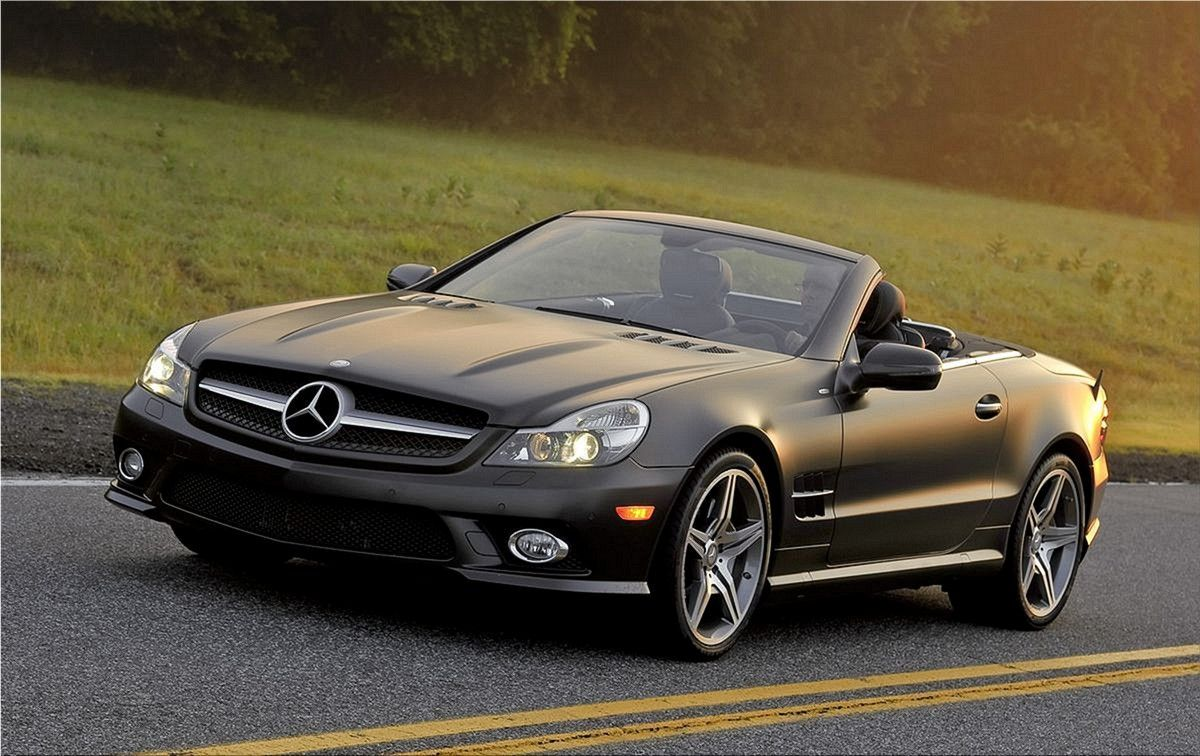 2011 Mercedes Benz Sl550 Night Edition Mercedes Benz Pictures
