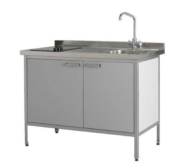 Radical Downsizing High Low Mini Kitchens Kitchen Cupboard