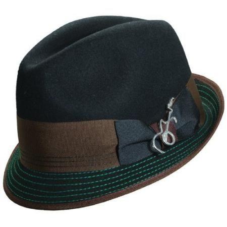 Carlos Santana Fedora Hats - Leader-Black-S/M