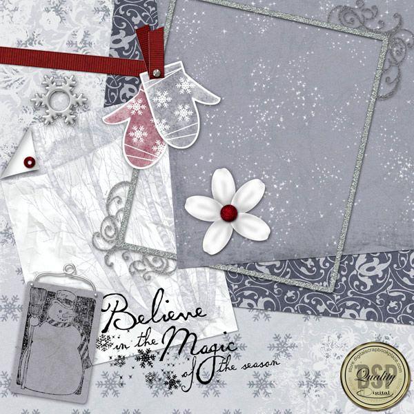 Magic of the Season Page Kit [CDDL-SotS-K-MagicofSeason] - $3.99 : Digital Scrapbook Place, Inc. , High Quality Digital Scrapbook Graphics