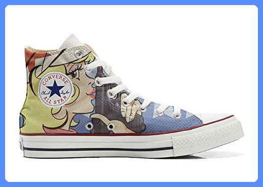 Make Your Shoes Converse Customized Adulte - chaussures coutume (produit artisanal) Spake Paisley size 32 EU sNKJnHL