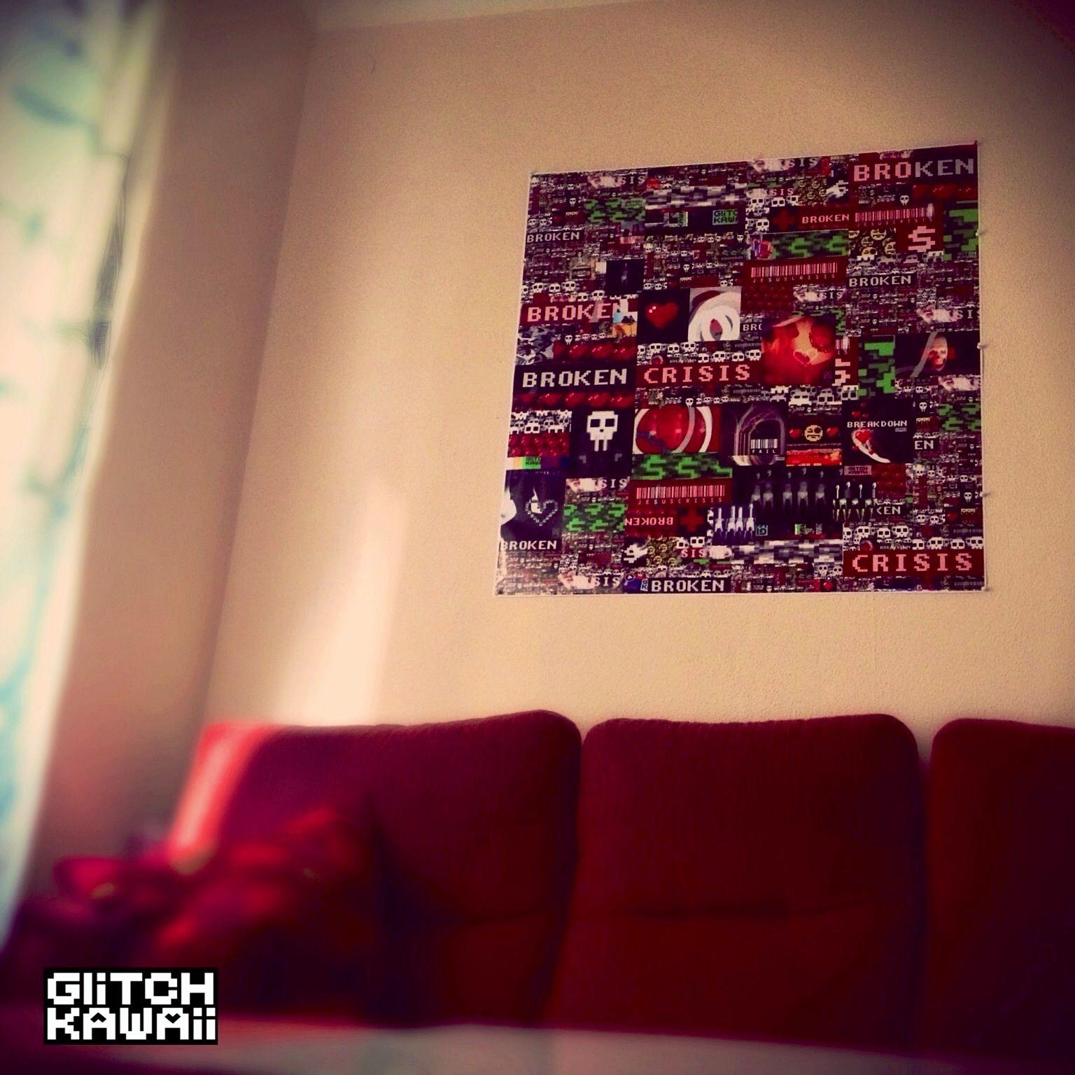 Glitches in my House by GlitchKawaii